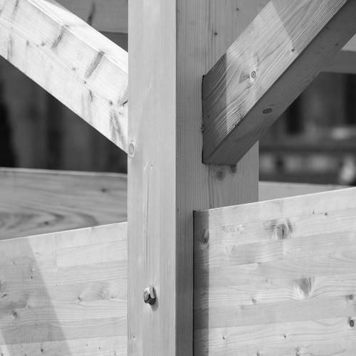 Charpente traditionnelle en bois