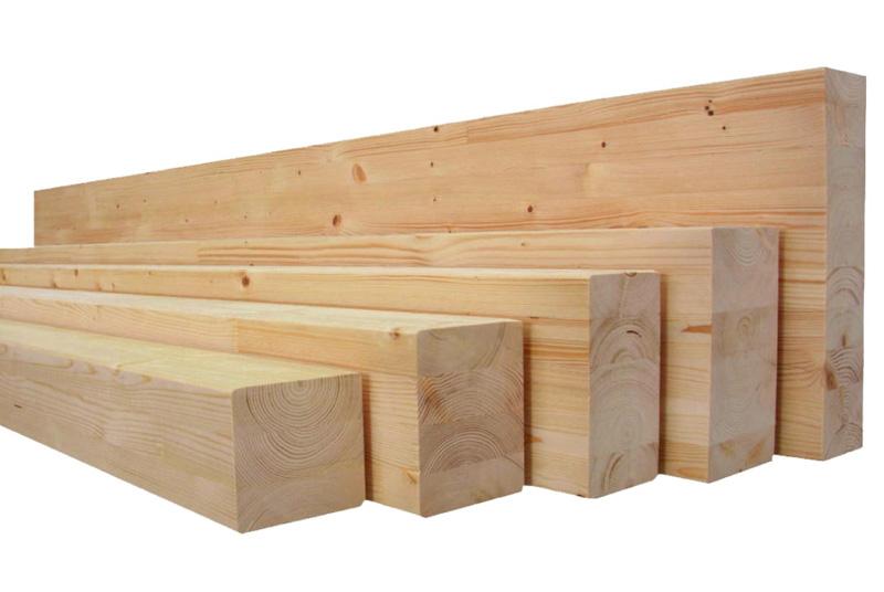 lamellé-collé en bois